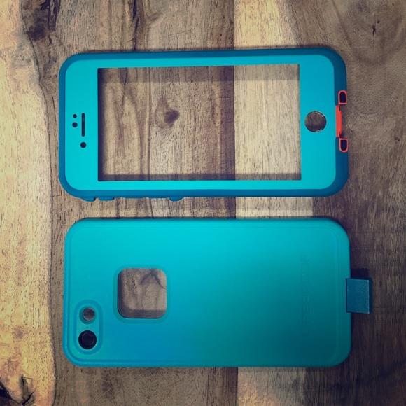 best service c69d1 ddd1f Life proof iPhone 7 case color sunset bay